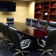 A boardroom where businesses come to start SEO services to rank their website on Page 1 of Google.