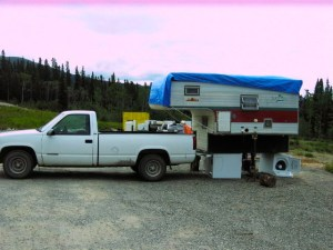 Loading camper