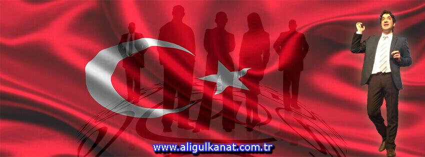 Risk Almak Gerek ali gulkanat egitim turk bayragi