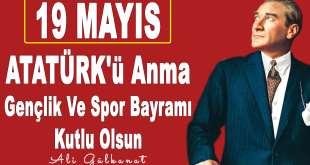 19 MAYIS Atatürk'ü Anma Gençlik ve Spor Bayramı Kutlu Olsun 19 mayis 2018 arka alan 3