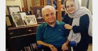 عباس امیرانتظام اززبان همسرش درسومین سالگرد تیر۱۴۰۰
