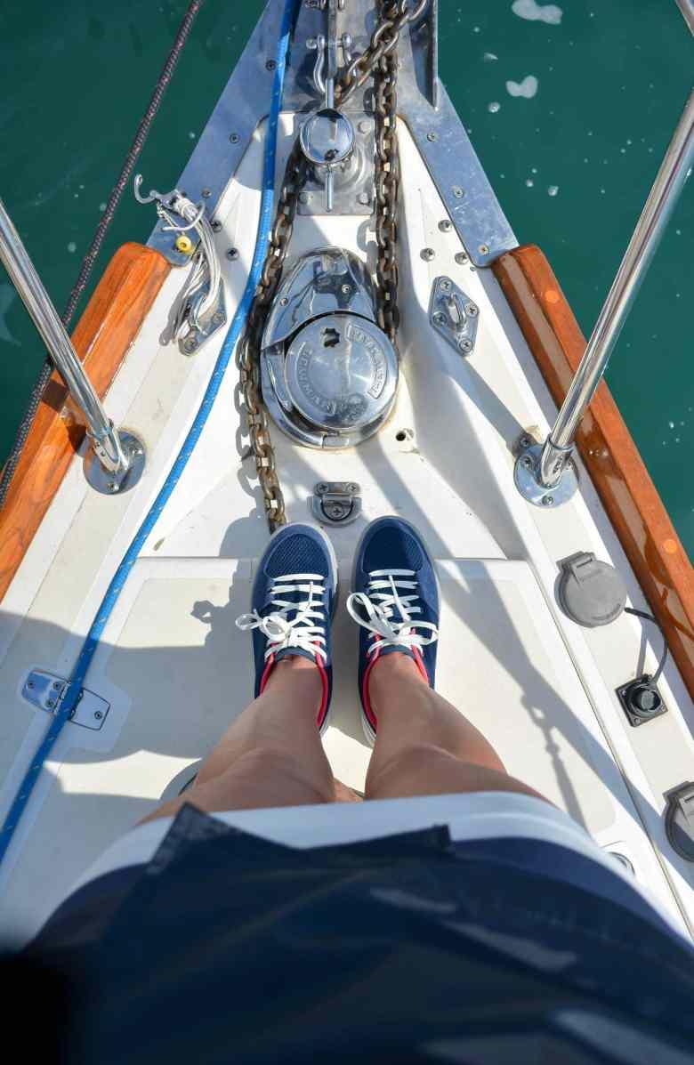 Helly Hansen Jacket, Sailing in Chicago, Lake Michigan, Chicago Fashion Blogger, NOOD Regatta Chicago, Helly Hansen Sport Dress, Nautical Style, Chicago Yacht Club