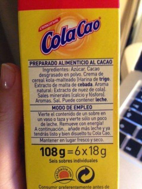 colacao-ingredientes-etiqueta-alimento