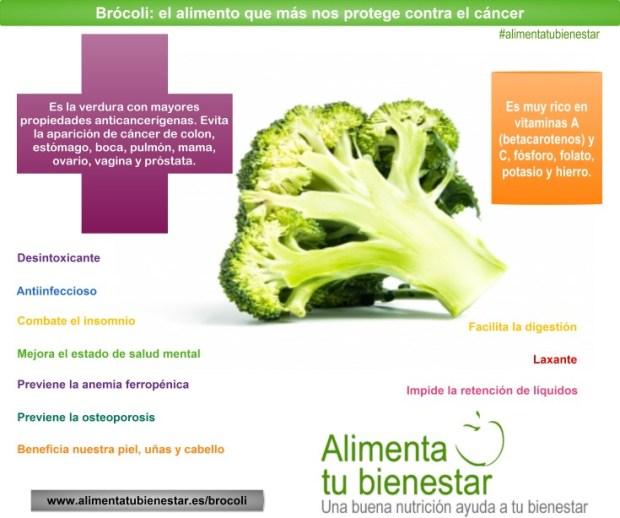 Brócoli protector frente al cáncer