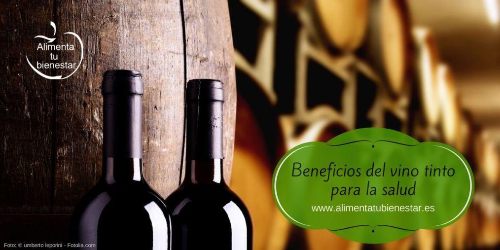 los beneficios para la salud del vino tinto