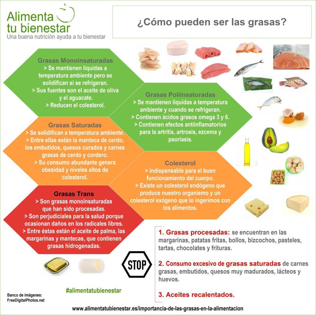 La importancia de las grasas en la alimentaci n - Alimentos para mejorar la artrosis ...