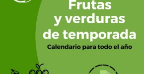 Frutas y verduras de temporada calendario descargable