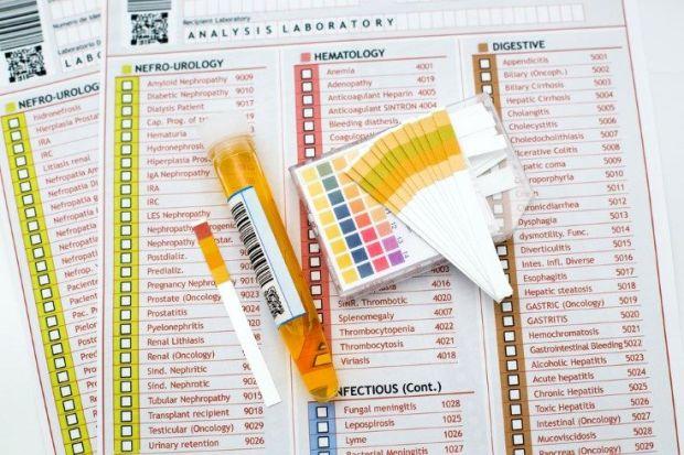 análisis para infecciones urinarias