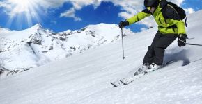 El esquí, un deporte de invierno saludable