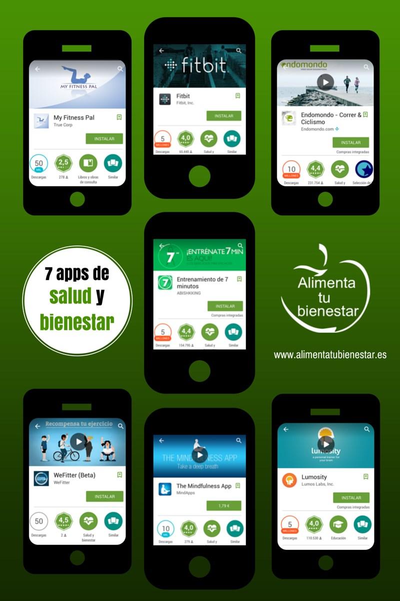 7 apps de salud y bienestar