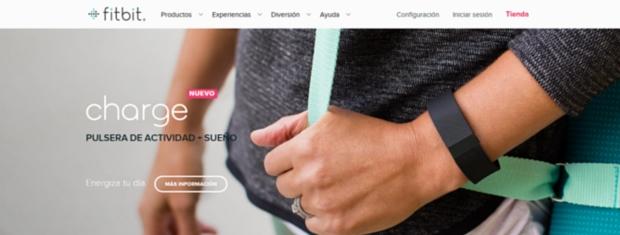 apps de salud y bienestar - fitbit