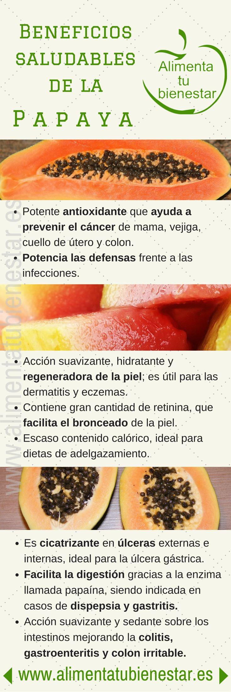 Beneficios saludables de la papaya