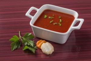 Recetas veraniegas saludables Gazpacho con remolacha