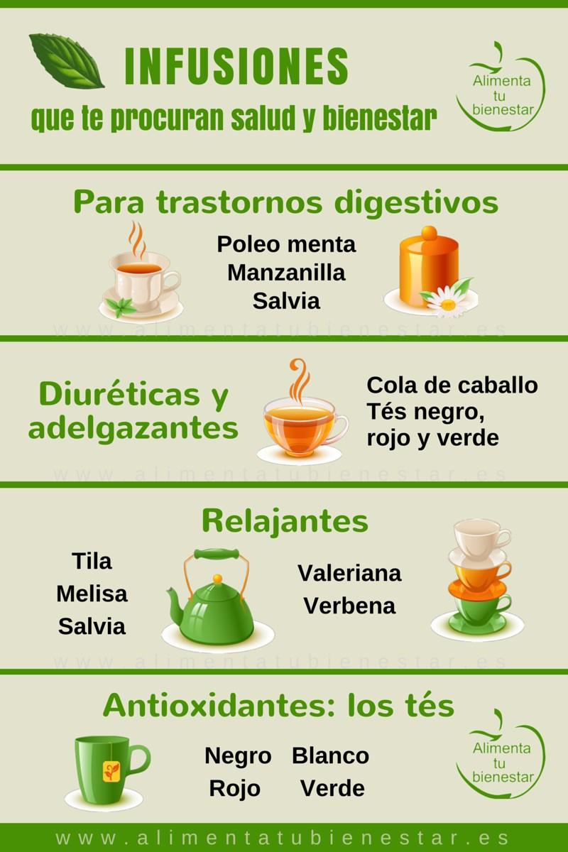 Las mejores infusiones para tu salud y bienestar - Que alimentos son antioxidantes naturales ...