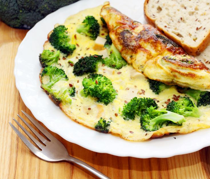 Para prevenir demencias Tortilla de brócoli