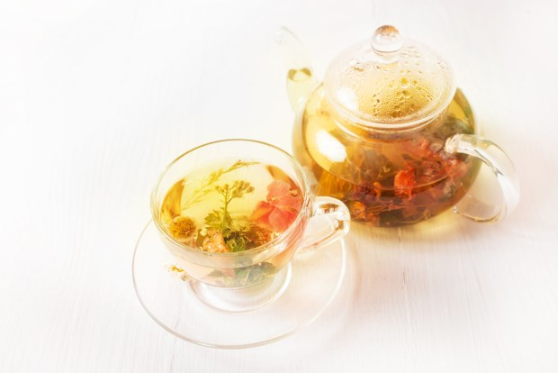 desayuno saludable con infusiones