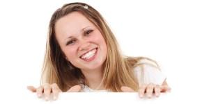 dientes perfectos y sonrisa bonita