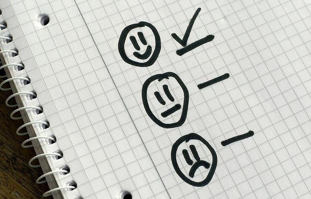 elegir bienestar y actitud positiva