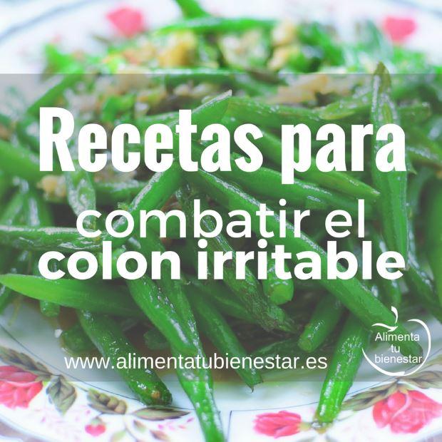 Recetas para combatir el colon irritable