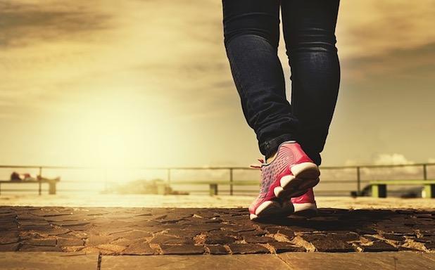 caminar para perder peso en vacaciones