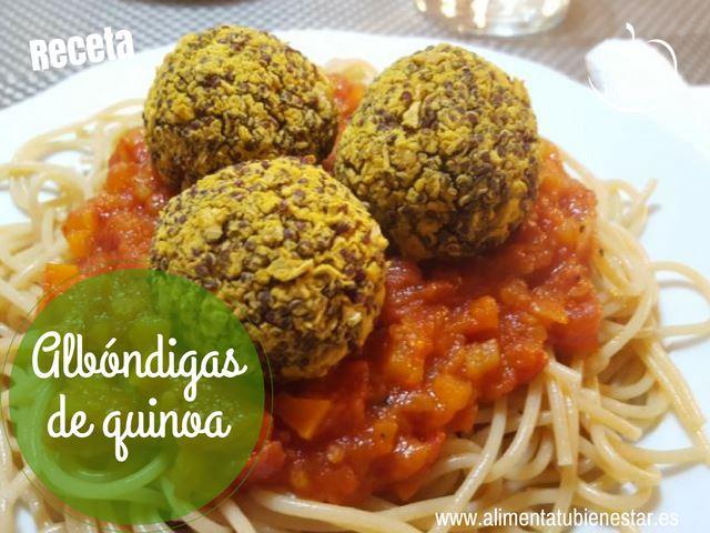 receta albóndigas de quinoa