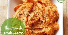 Hummus de tomates secos receta