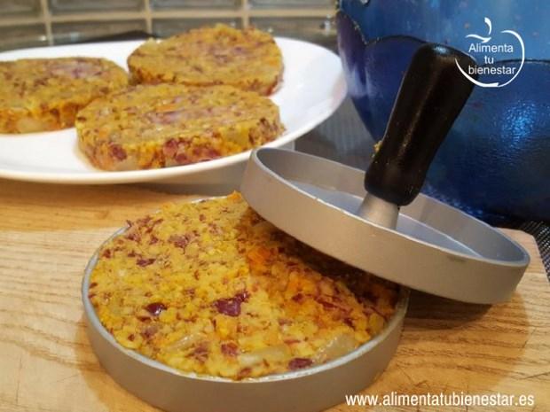 receta de hambuguesa vegetal