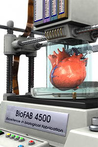 Bioimpresión de un corazón