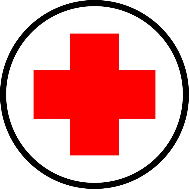 Cruz Roja símbolo de solidaridad