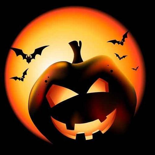 Ricetta per Halloween: Riso venere e noci su tortino di zucca e crema di funghi