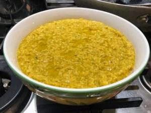 dahl di lenticchie rosse ricetta