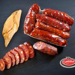 Chorizos curados dulces - Damma