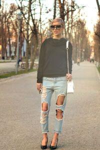 "5 REASONS why we love ""boyfriend jeans"":"