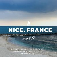 Stories: ANTIBES, Picasso, Absinthe and Marche Provencale.