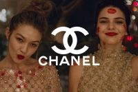 Kendall & Gigi Sleepover Party In Chanel Couture