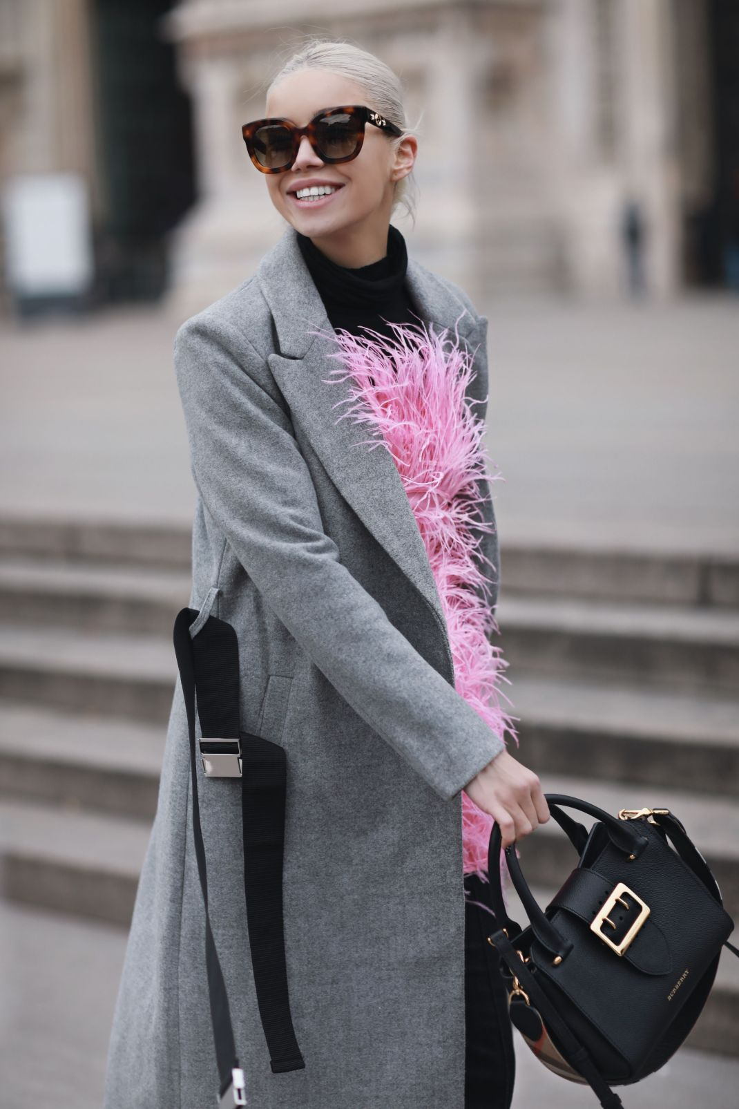 #MFW: Bright pinks and classic lines