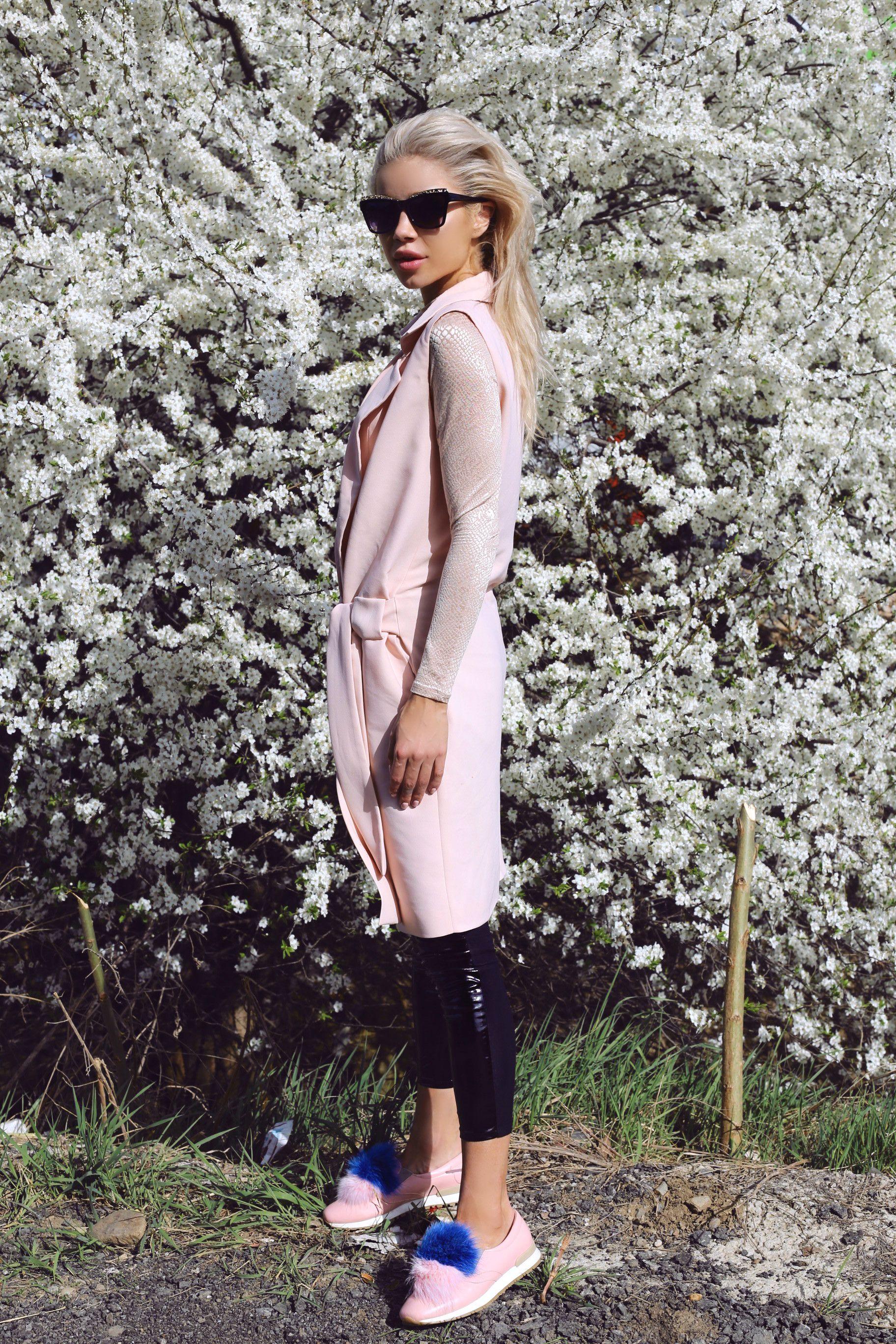 Spring Look: Vest x Dress