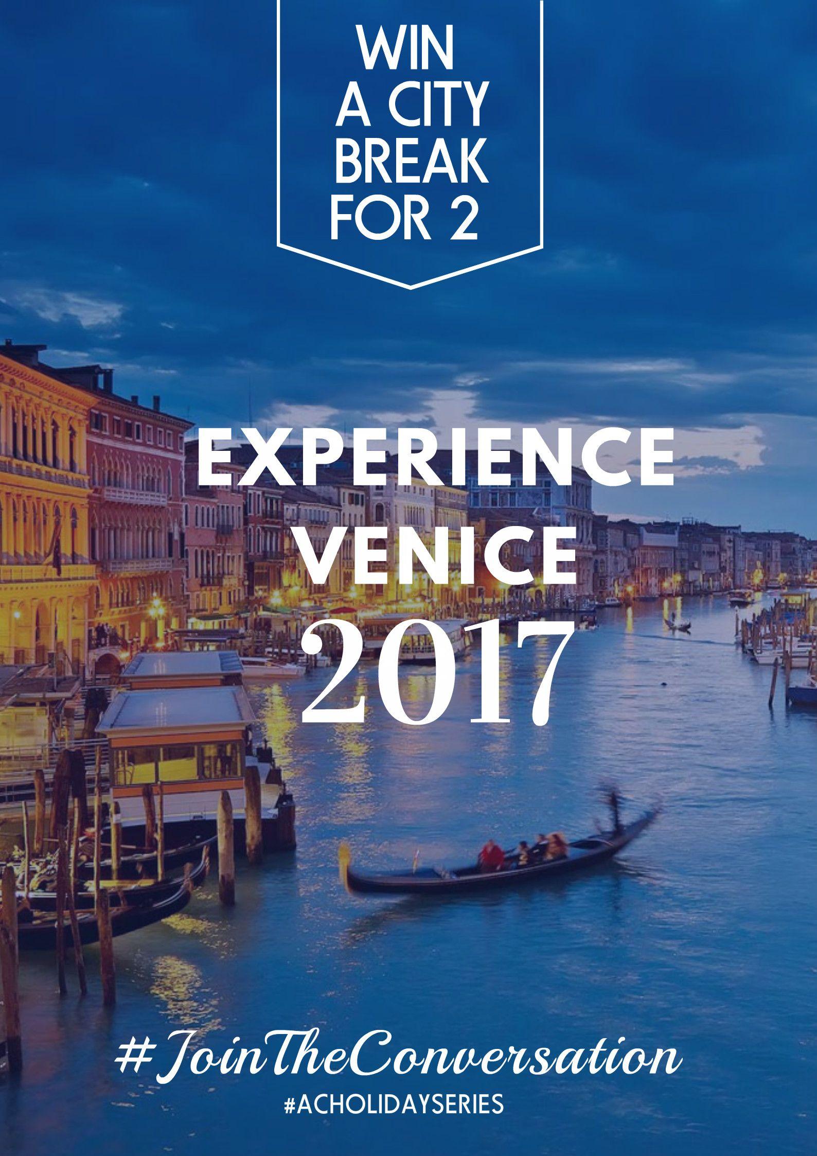 XMAS: Win a city break for 2 in Venice