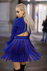 MFW Day 5: Fringed up in Elisabetta Franchi