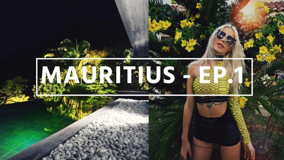 VLOG #5 We spent our New Year's Eve in Mauritius