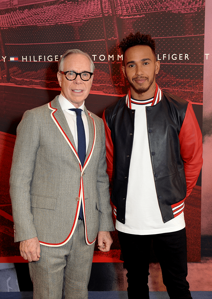 #WhatsYourDrive – TOMMY x LEWIS HAMILTON