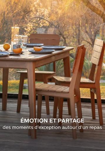 mobilier de jardin et terrasse