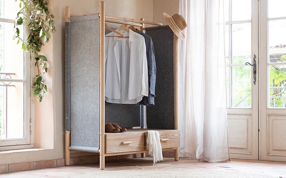 armoire meuble de rangement chambre
