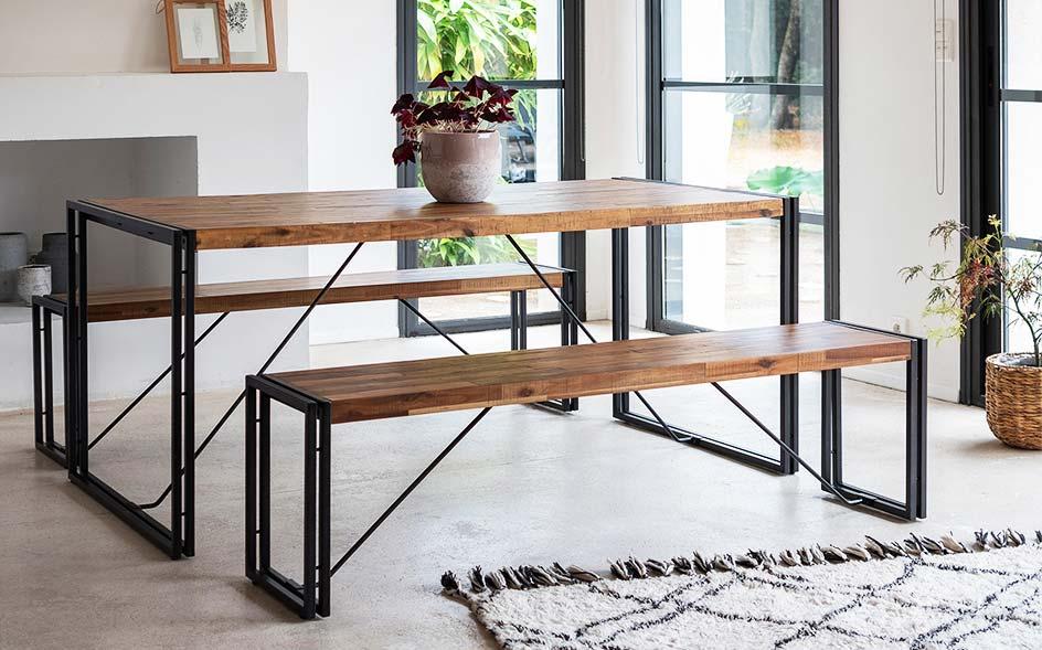 tabouret et banc meubles de salon