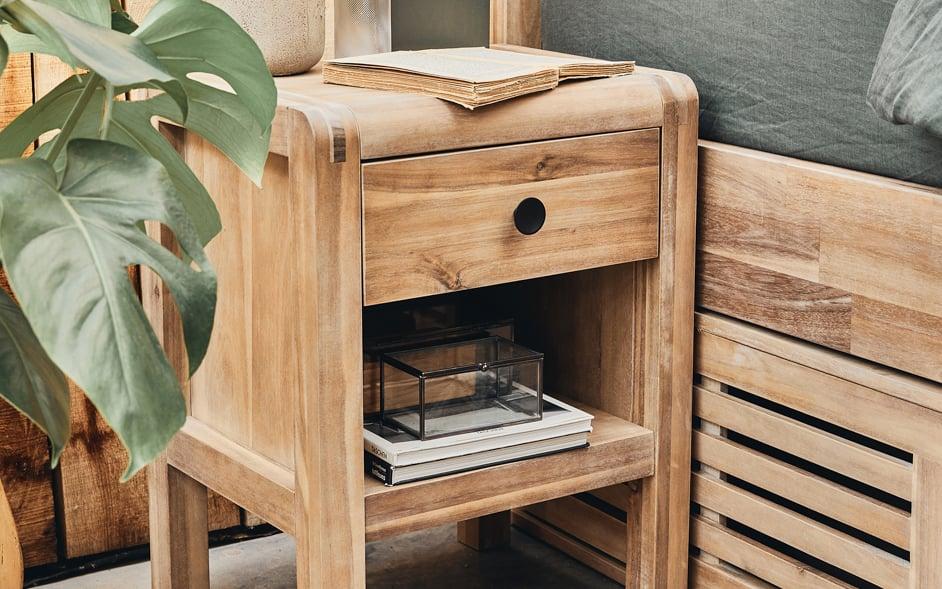 table de chevet meubles de chambre