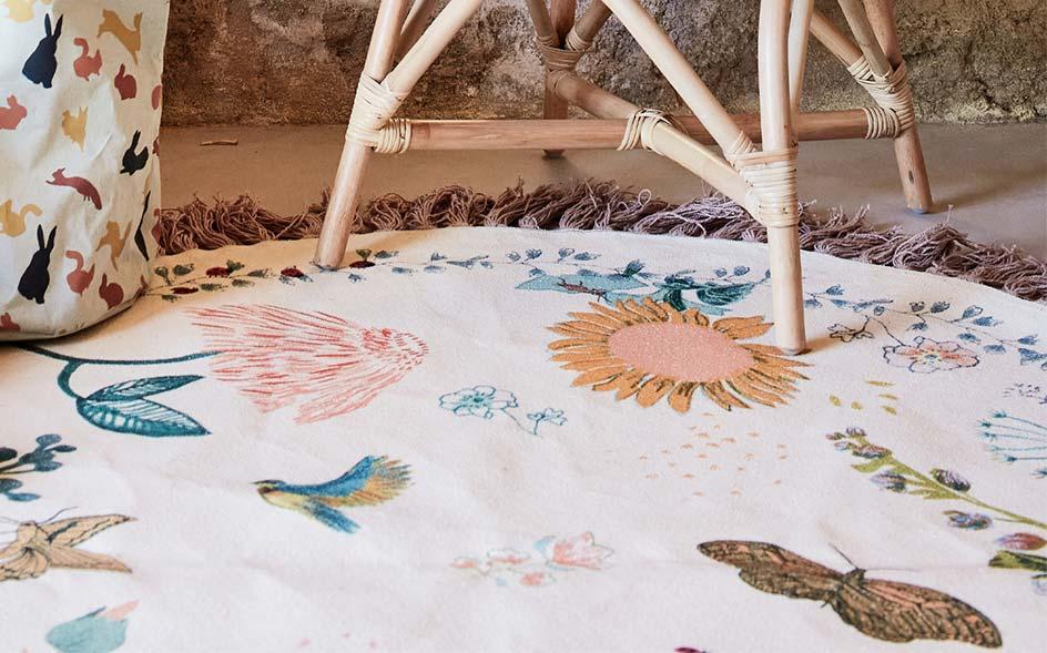 tapis chambre enfant decoration