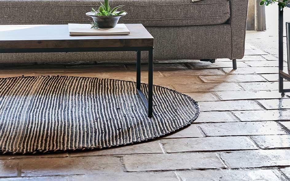 tapis rond meubles et decoration alinea