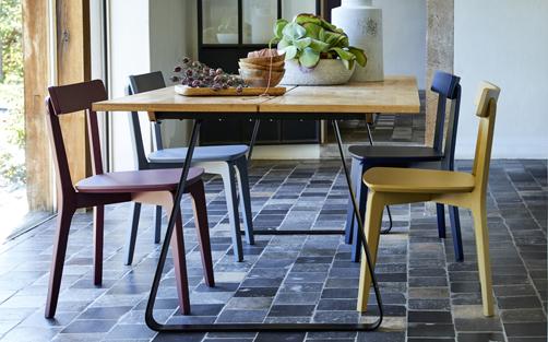 chaise de cuisine en bois meuble de