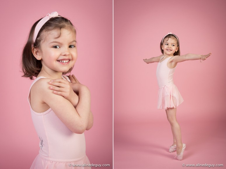 Photographe enfant, danseuse, photographe famille, bébé, studio, séance photo