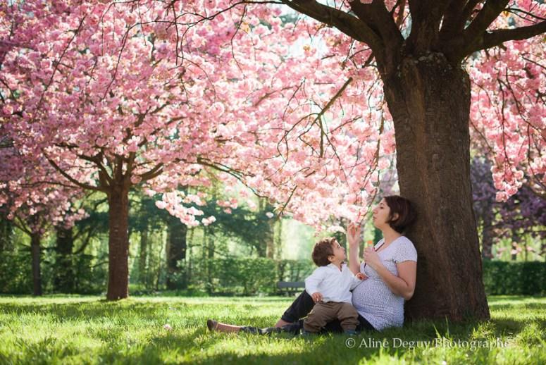 photographe grossesse, aline deguy, séance photo, extérieur, parc, sceaux, 92